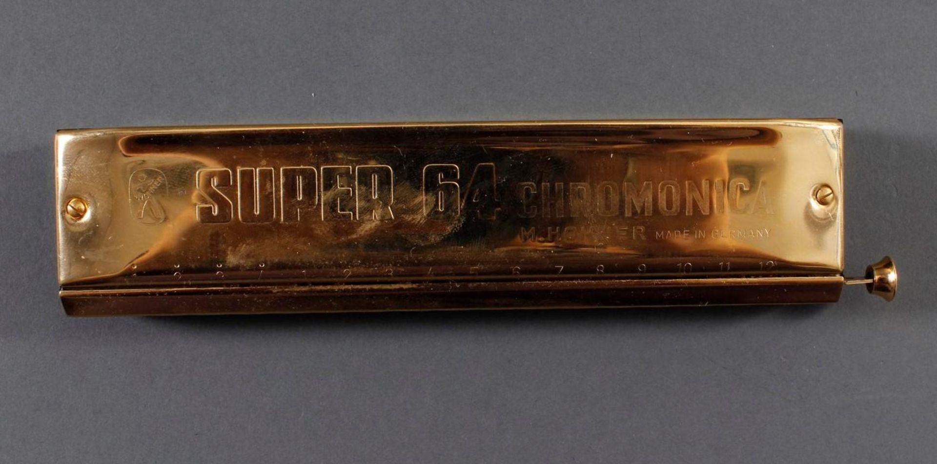 2x Hohner Chromonica Super 64 No. 7582 - Bild 2 aus 4