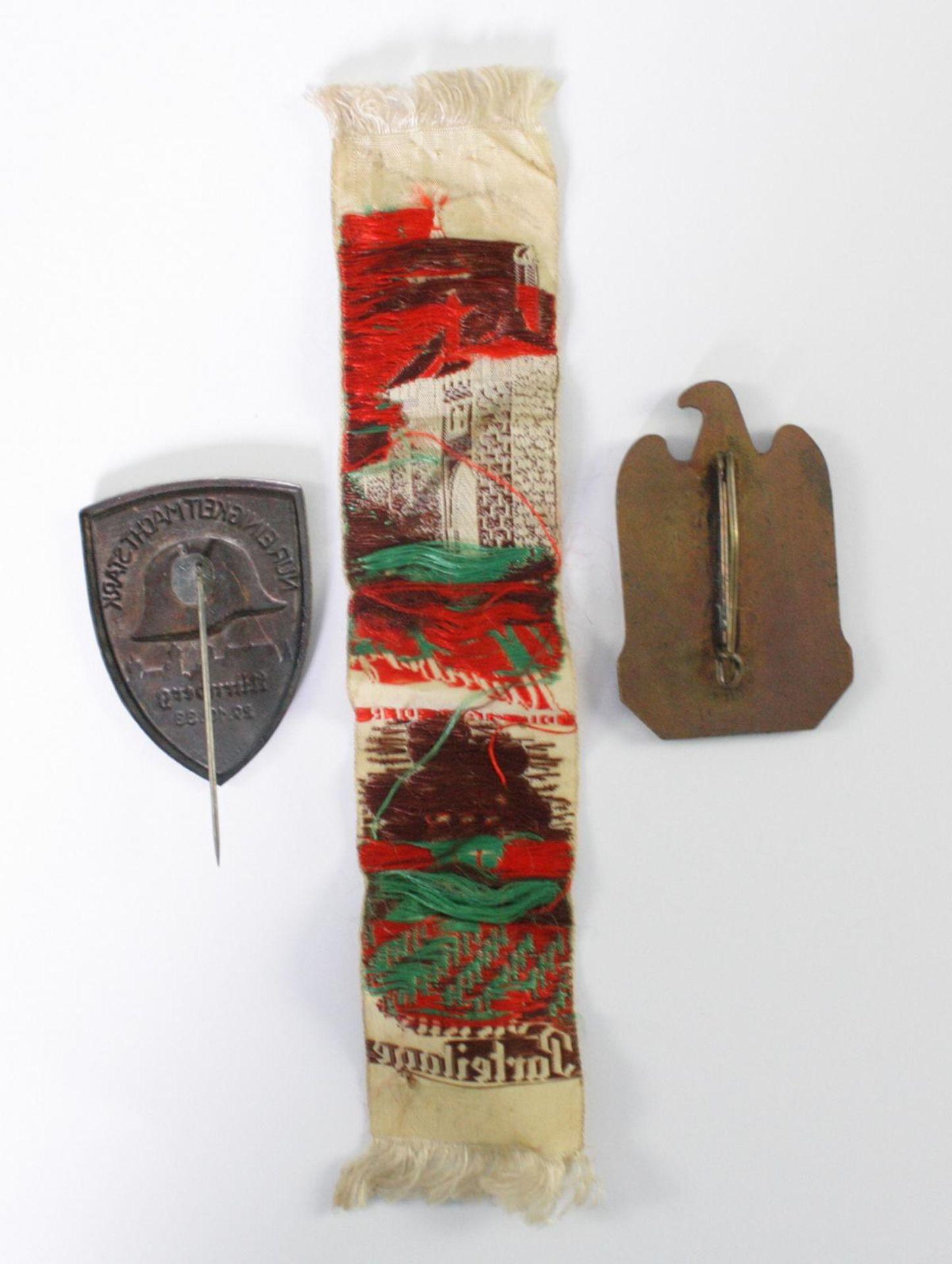 3 Abzeichen / Memorabilia Thema Nürnberg - Bild 2 aus 2