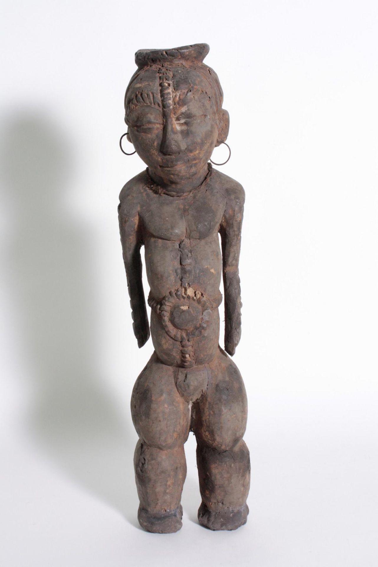 Ältere Ahnen-Figur, Tabwa, D. R. Kongo