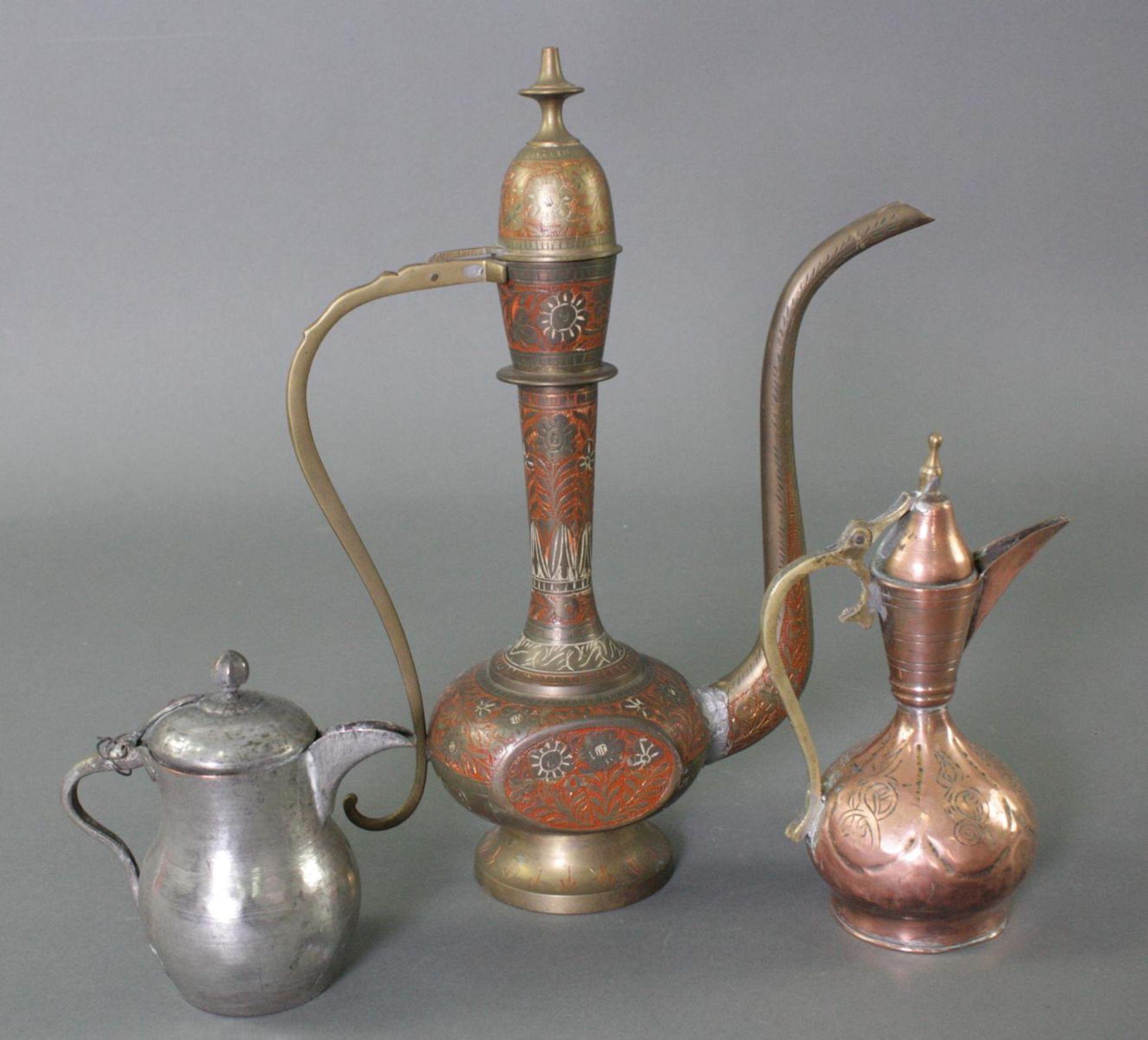 6 Kannen, Iran 19./20. Jahrhundert - Bild 12 aus 13