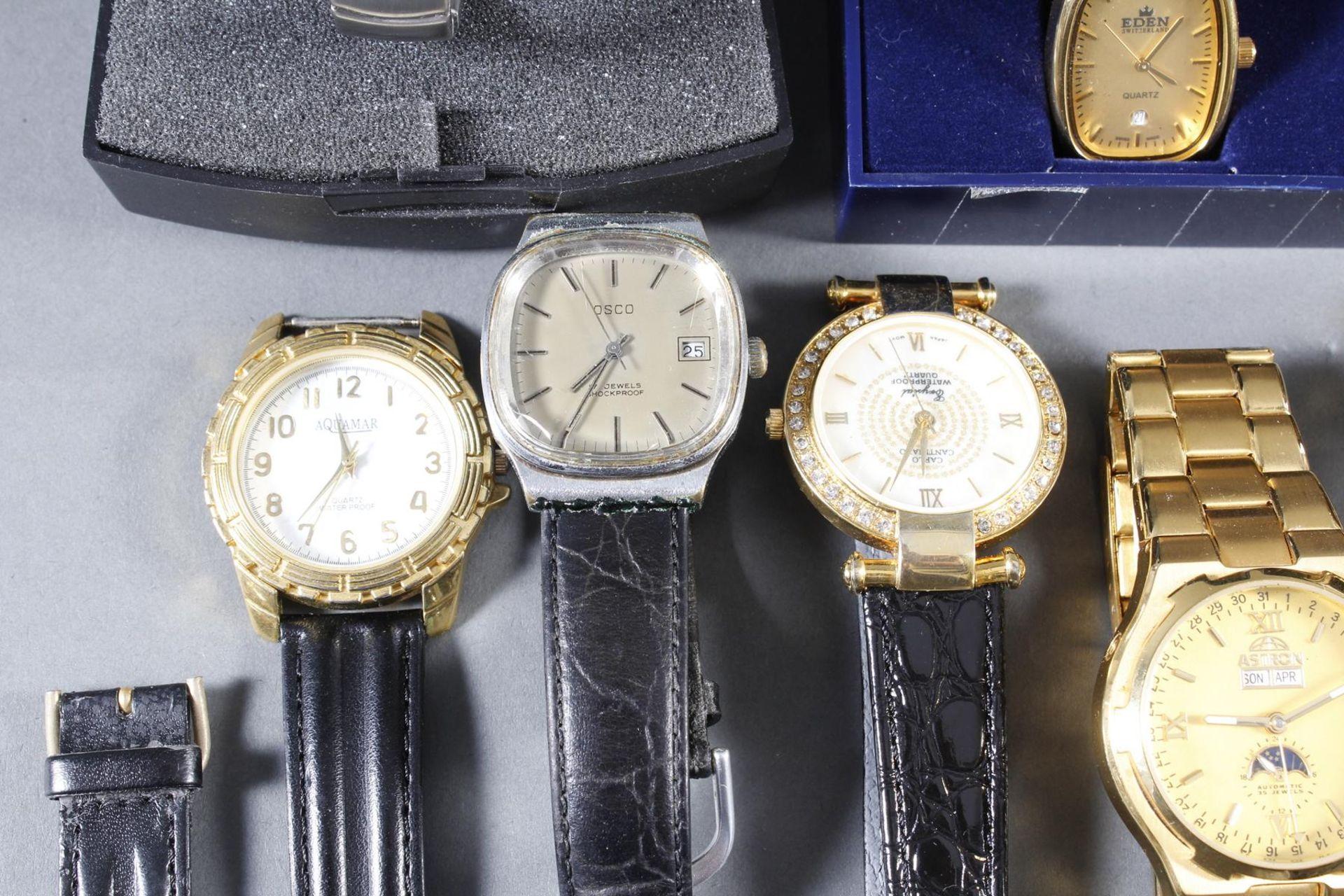 Konvolut Damen und Herrenarmbanduhren, 14 Stück - Bild 2 aus 7