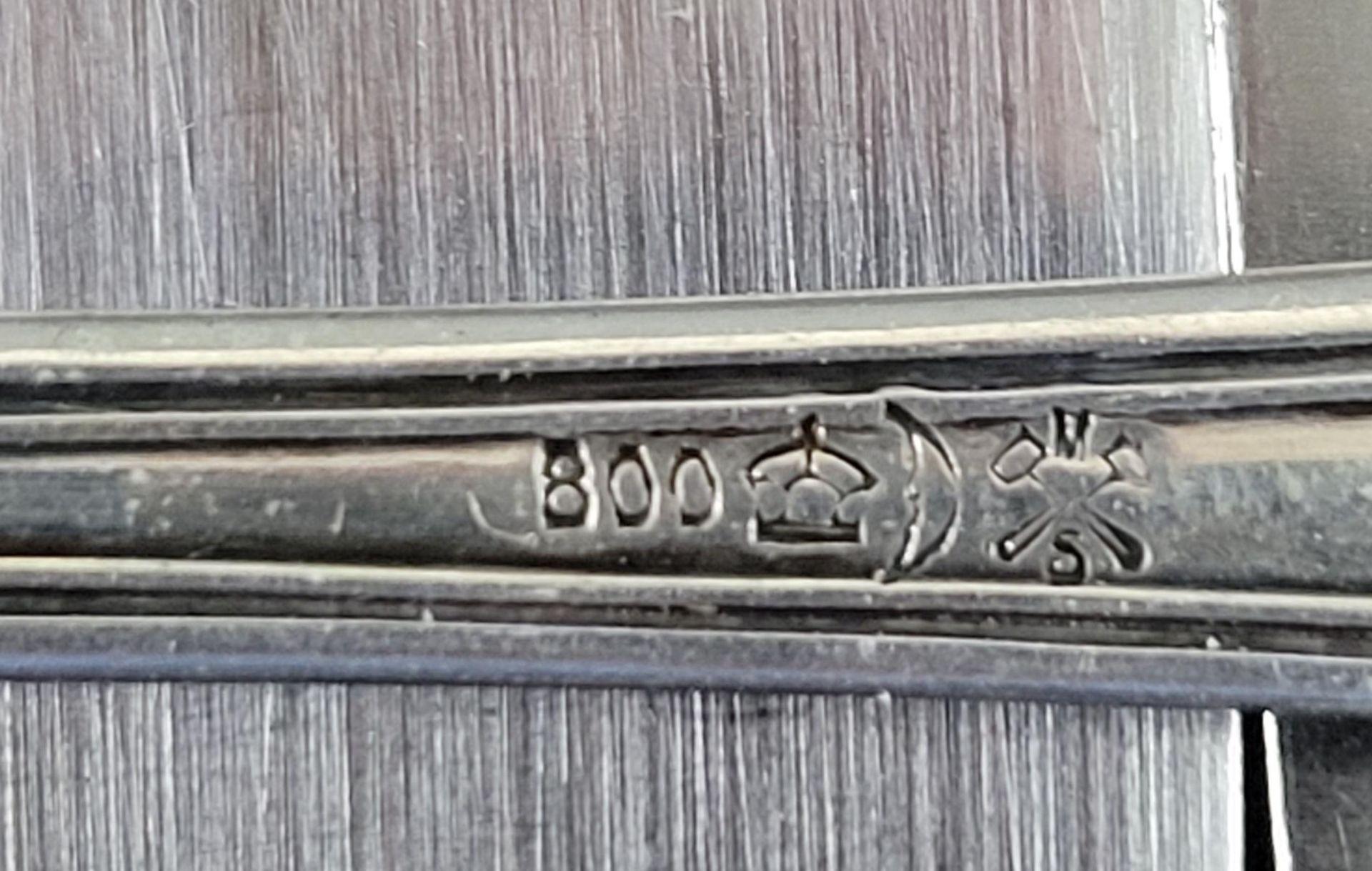 Essbesteck aus 800er Silber - Bild 2 aus 2
