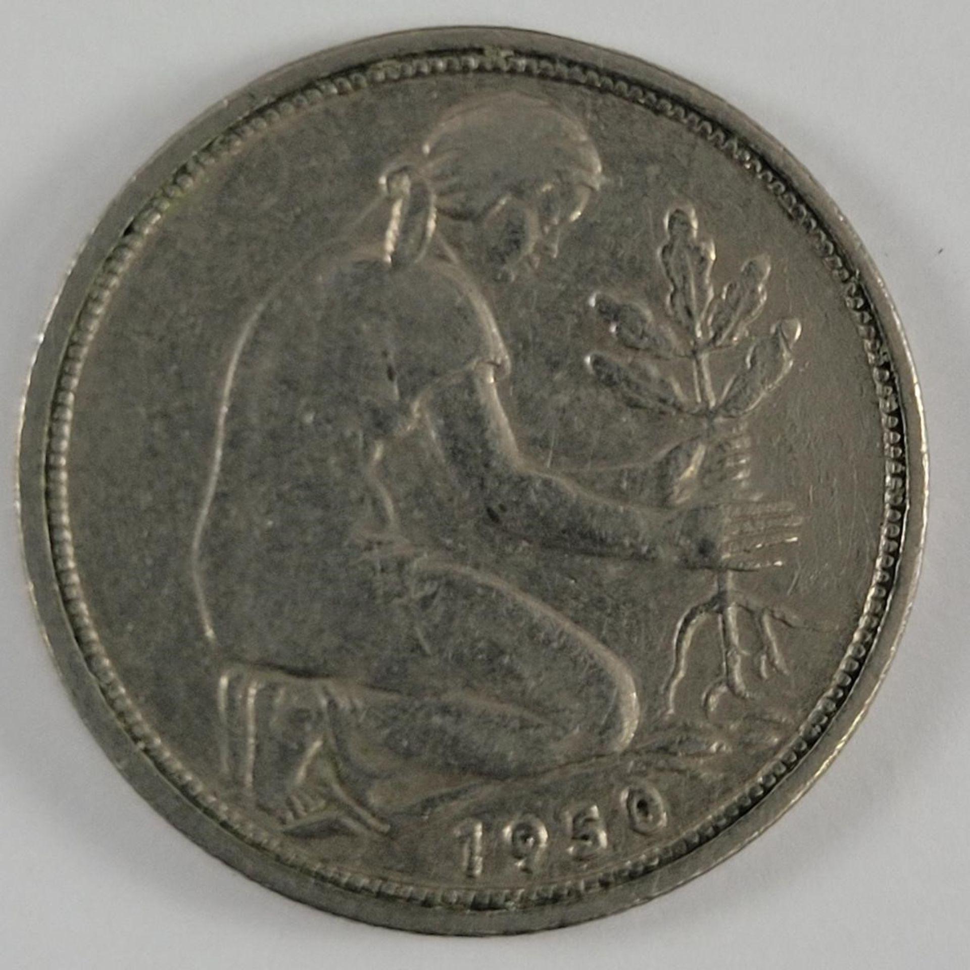 BRD - 50 Pfennig 1950 G, J.379