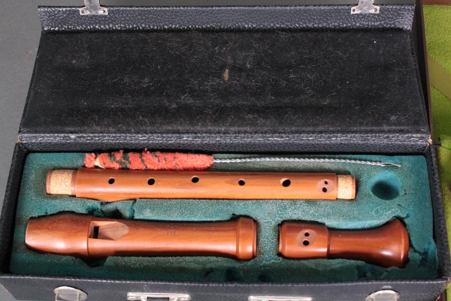 3 Blockflöten - Bild 2 aus 4