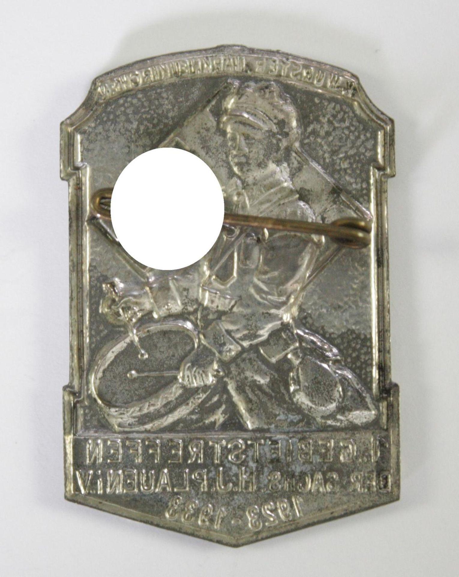 Abzeichen, 1. Gebiettreffen der sächsischen HJ Plauen i.V. 1923-1933 - Bild 2 aus 2