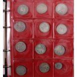 Münz- und Medaillensammlung in Album