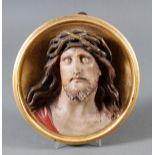 Holz Wandrelief, Christus, Süddeutsch um 1880