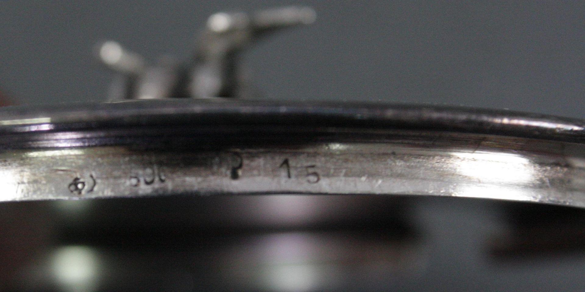 Zwei Schalen mit Silberdeckel - Bild 4 aus 4