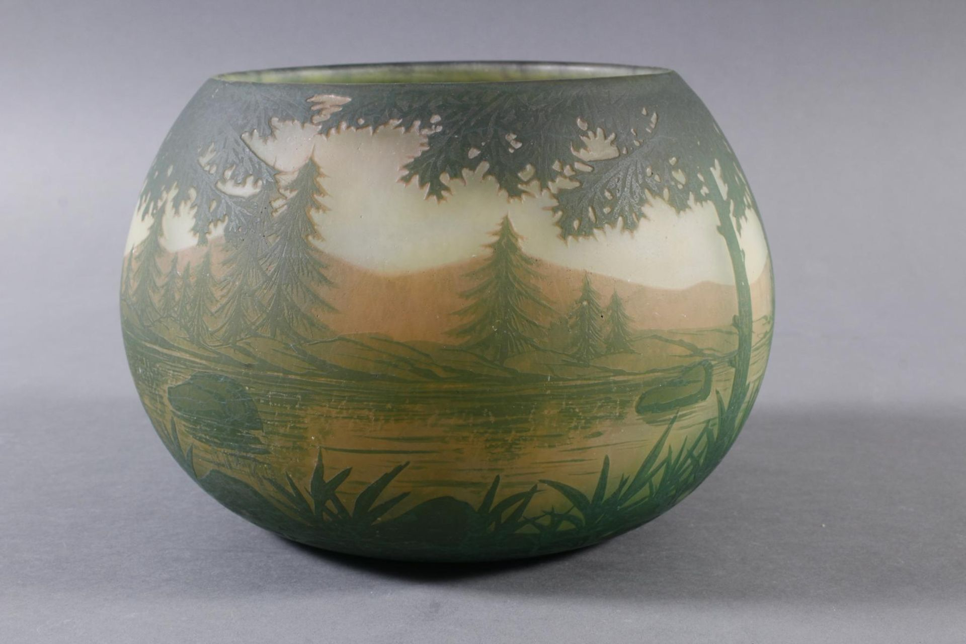 Daum Nancy, Vase Frankreich um 1900 - Bild 5 aus 9