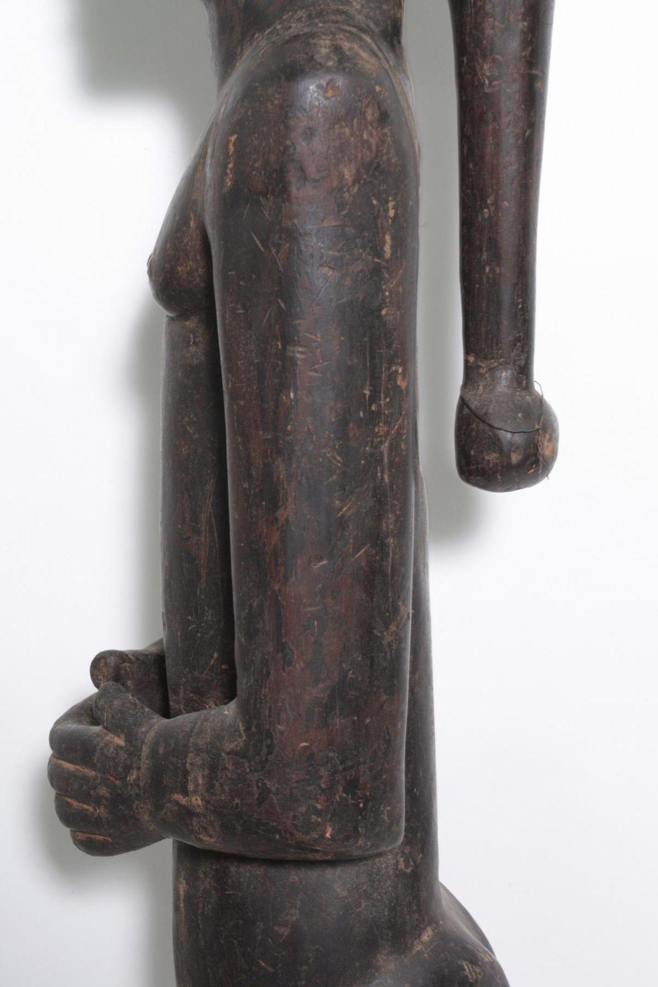 "Große Figur, wohl ""Eshu"", Yoruba, Nigeria , 1. Hälfte 20. Jh. - Bild 10 aus 11"