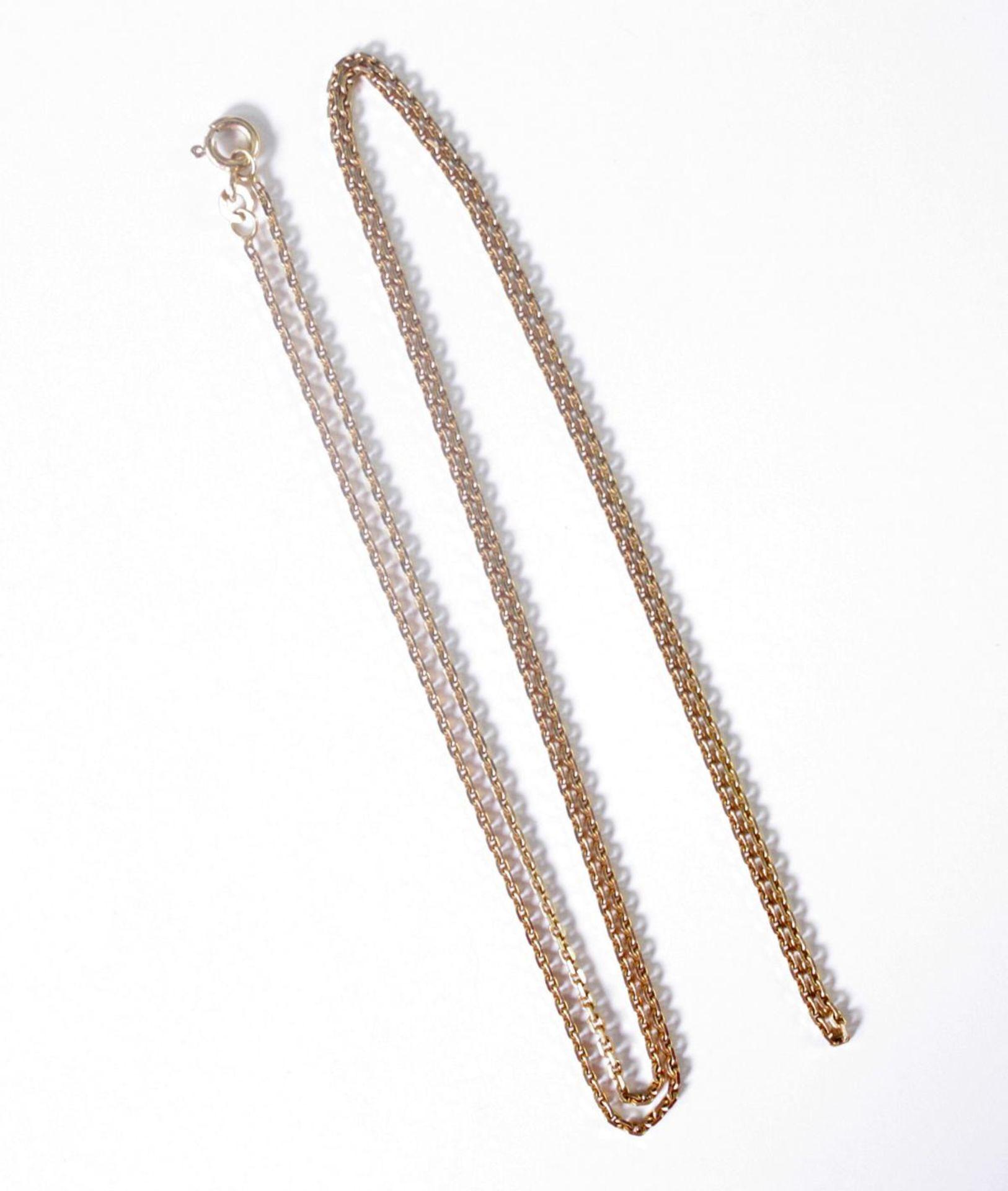 Halskette 8 Karat Gelbgold - Bild 2 aus 2