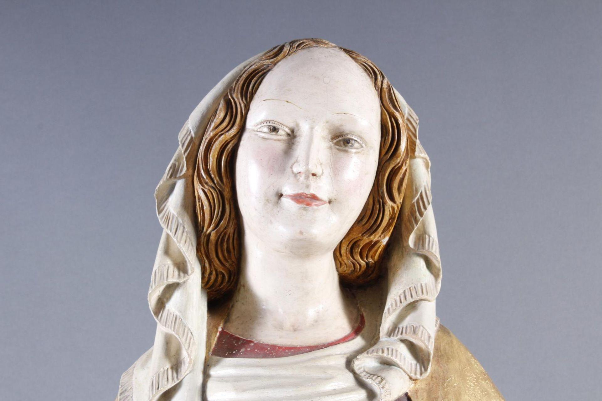 Madonna, Oberammergau um 1920 - Bild 14 aus 22