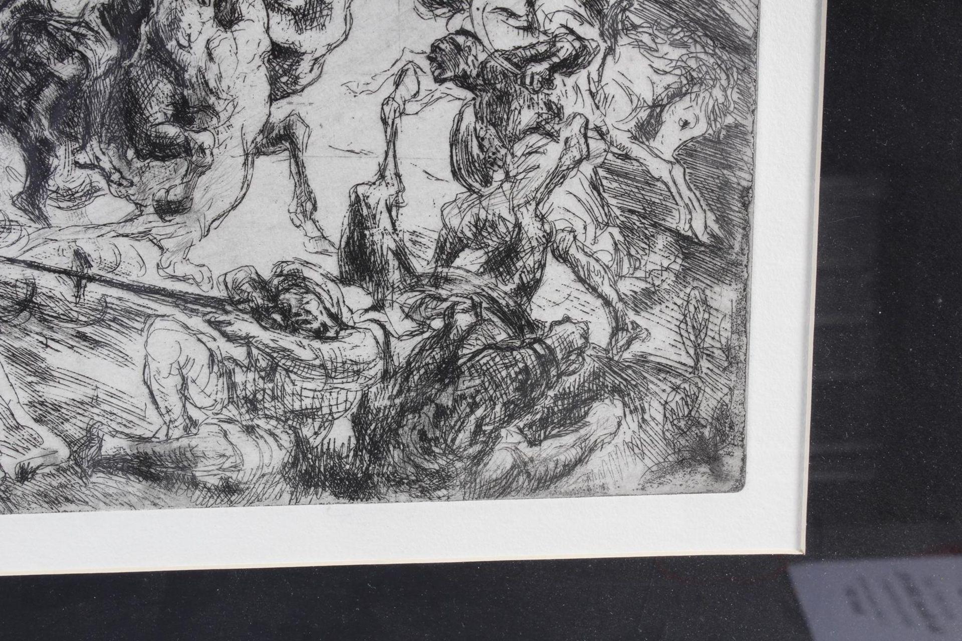 Max Slevogt (1868-1932), Löwenjagd - Bild 7 aus 7