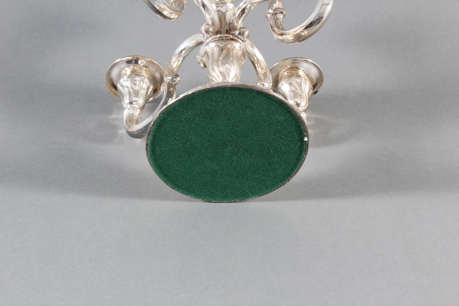 Silberner Kerzenständer - Bild 4 aus 4