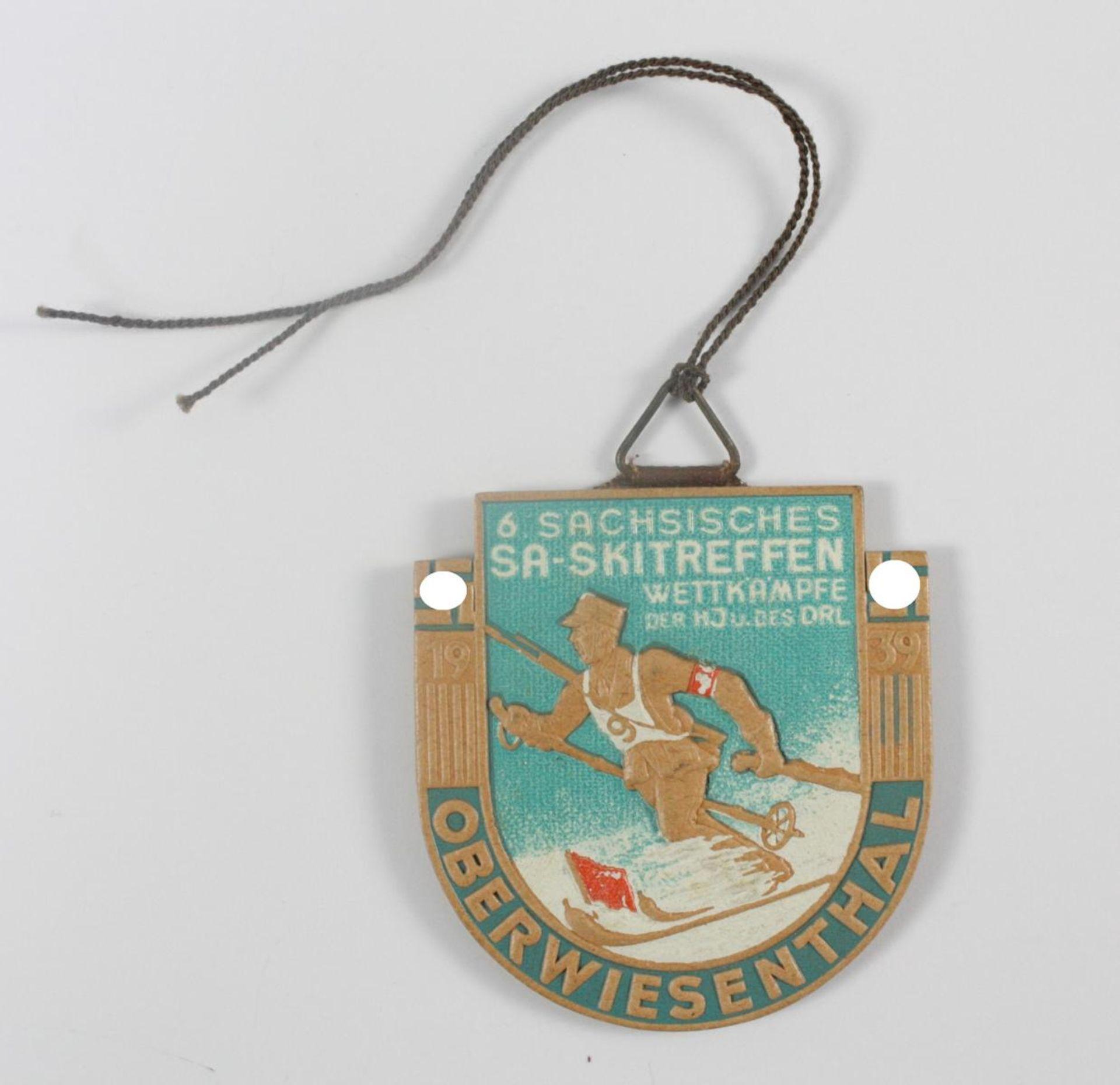Abzeichen: 6. sächsisches SA Skitreffen