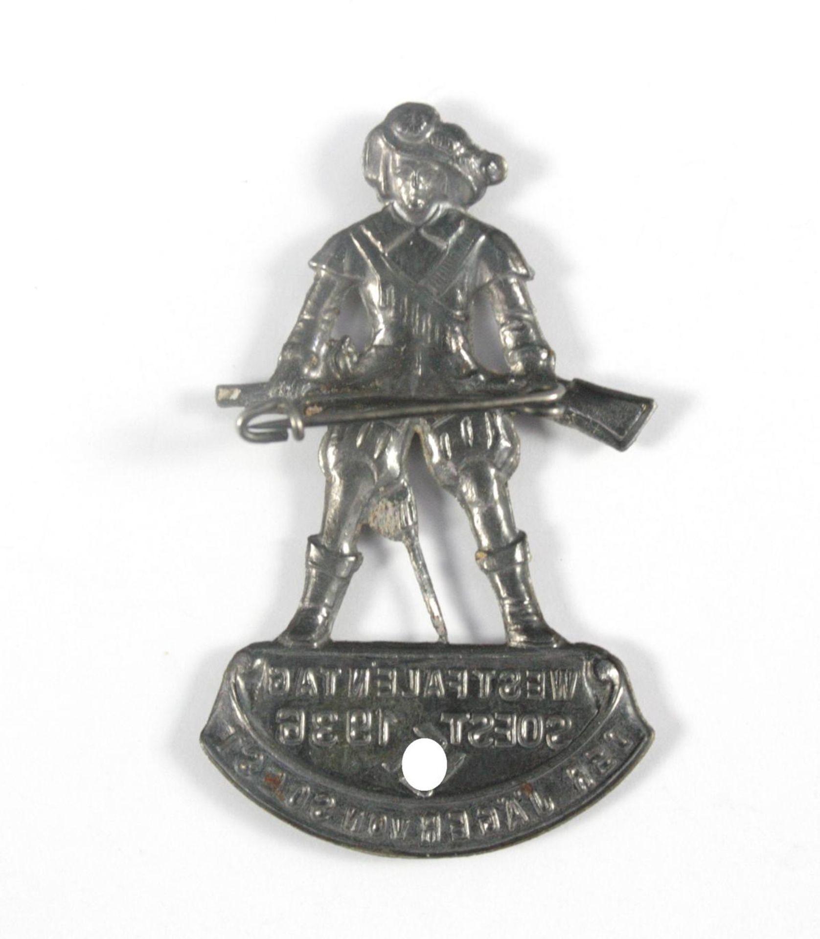 Abzeichen: Westfalentag der Jäger von Soest 1936 - Bild 2 aus 2