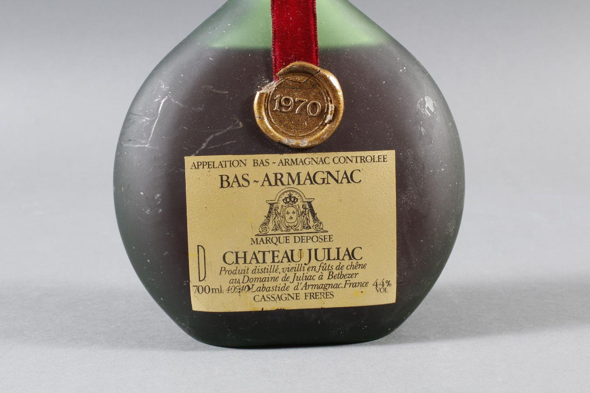 Bas-Armagnac, Chateau Juliac, 1970 - Bild 2 aus 3
