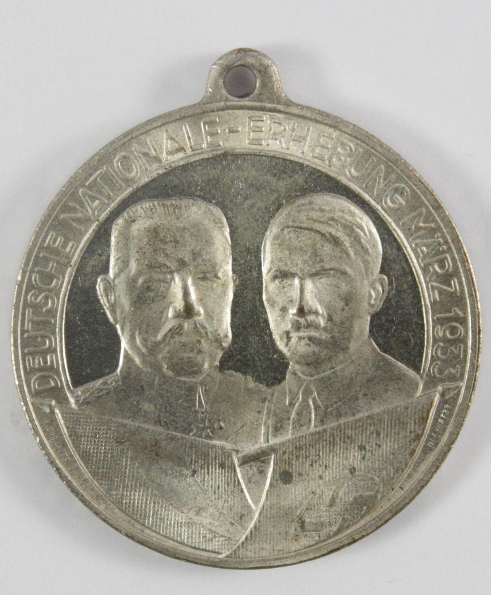 Medaille: Deutsche Nationale Erhebung 1933