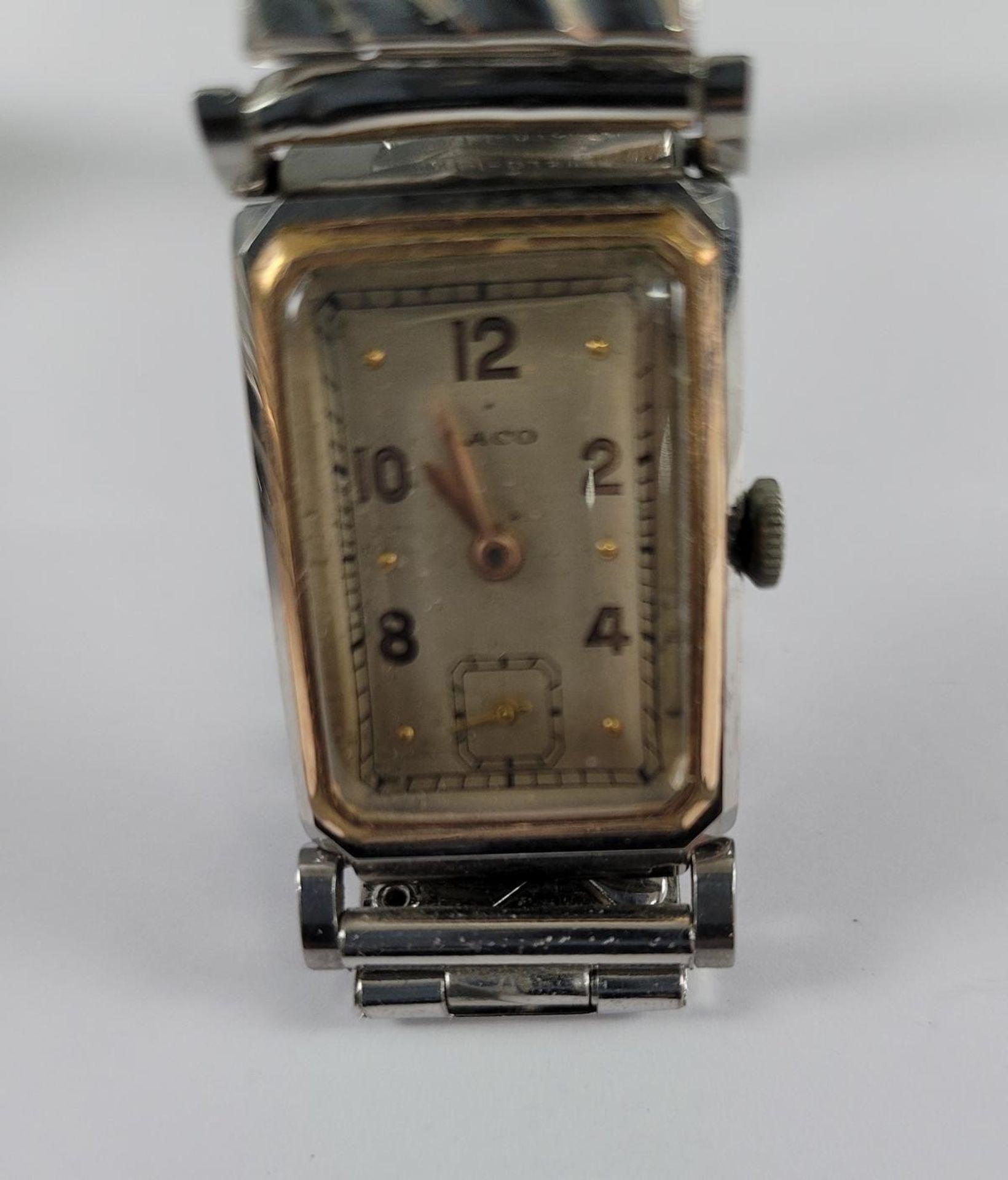 ENICAR Automatic Herrenarmbanduhr und LACO Damenarmbanduhr - Bild 4 aus 4