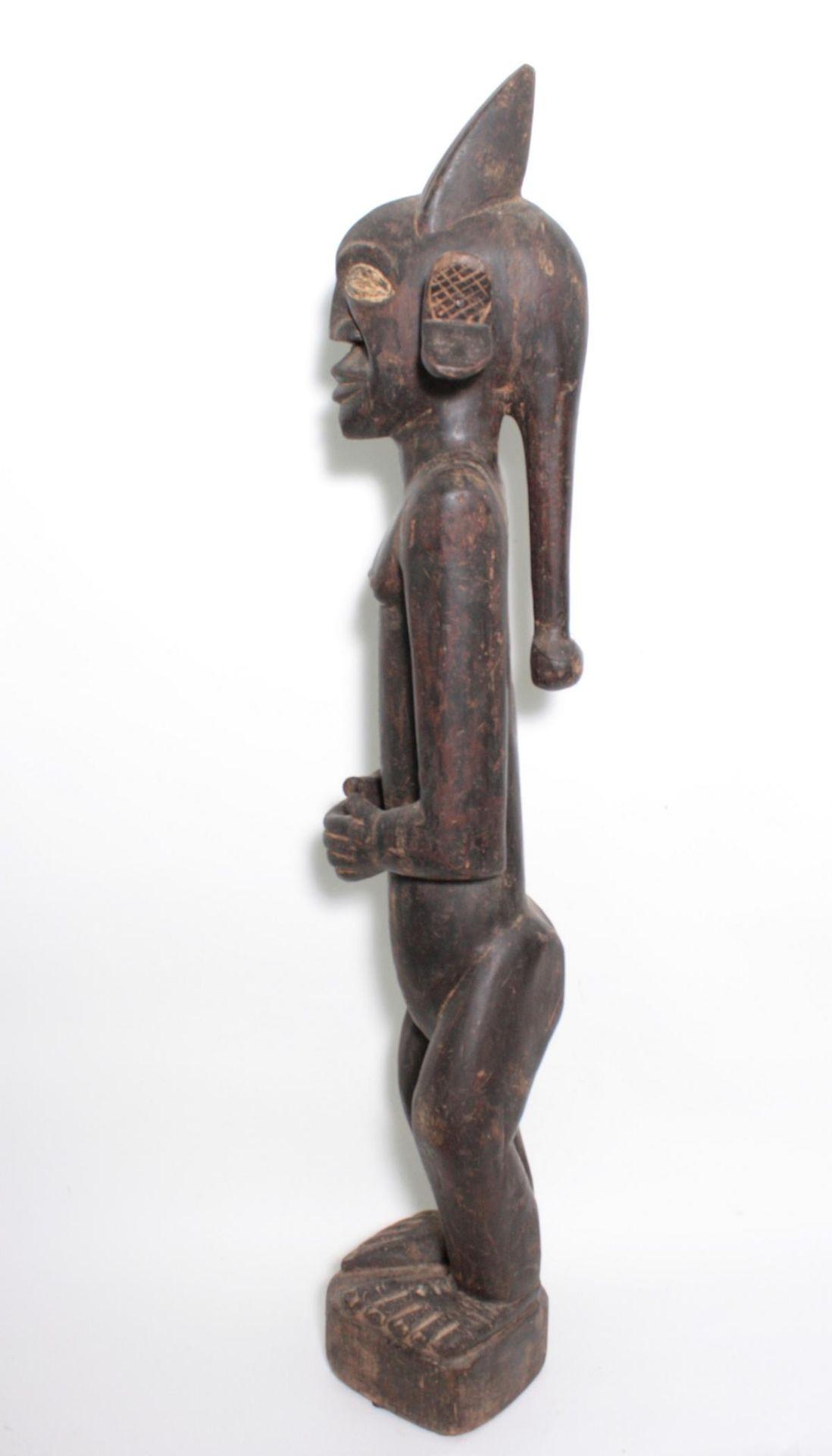 "Große Figur, wohl ""Eshu"", Yoruba, Nigeria , 1. Hälfte 20. Jh. - Bild 8 aus 11"