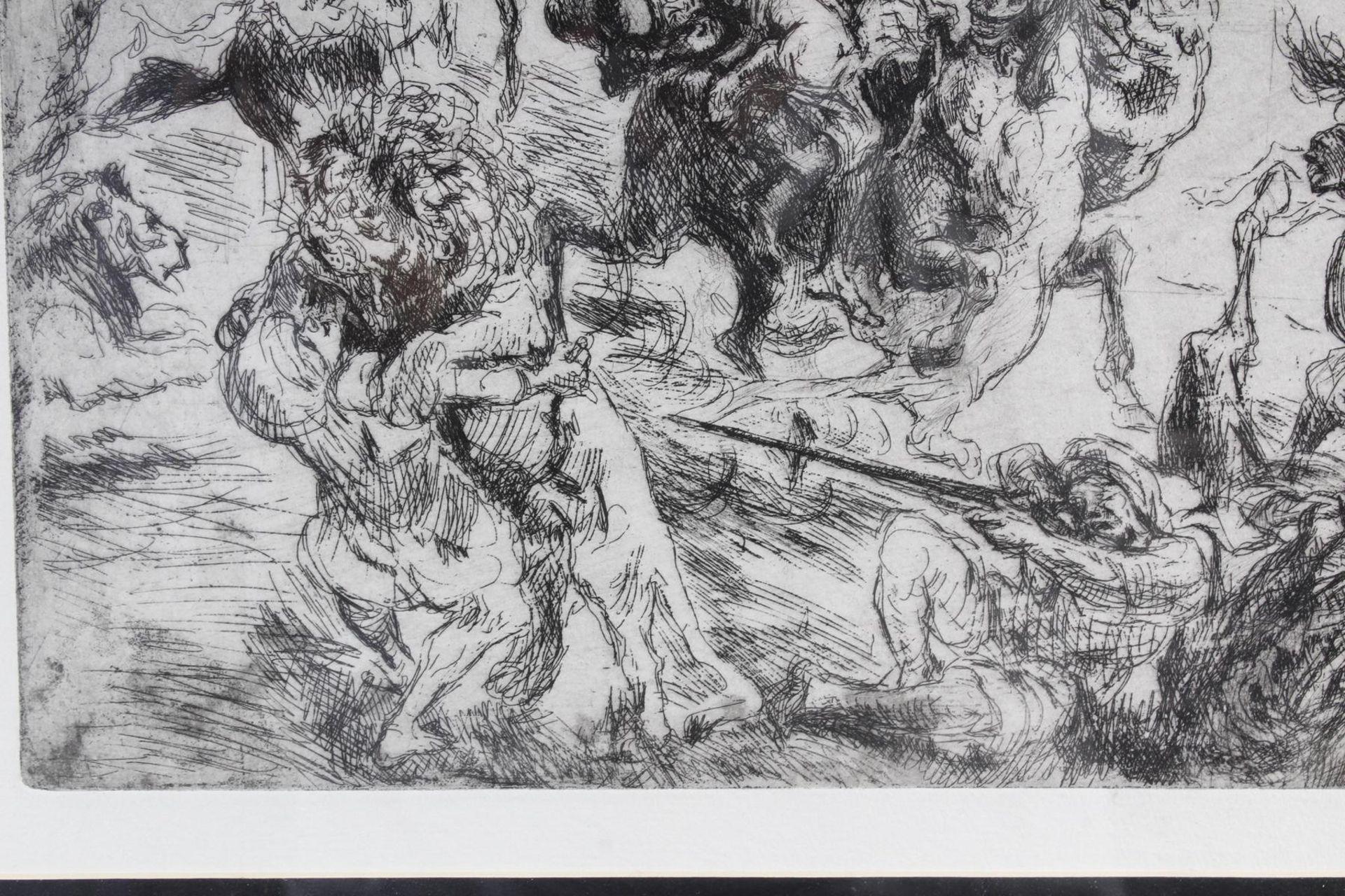 Max Slevogt (1868-1932), Löwenjagd - Bild 6 aus 7