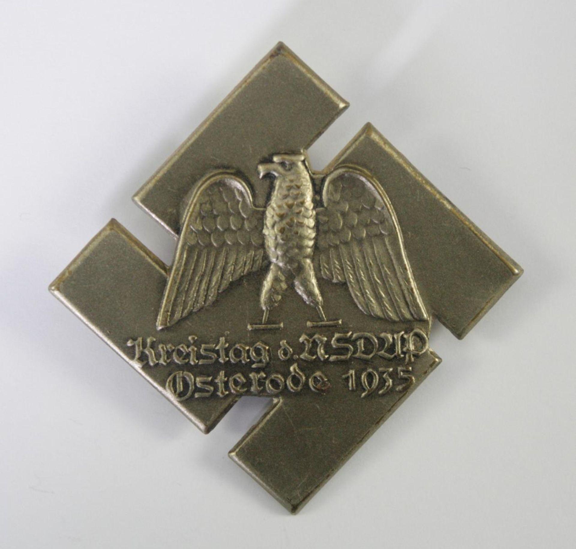 Abzeichen: Kreistag der NSDAP Osterode 1935