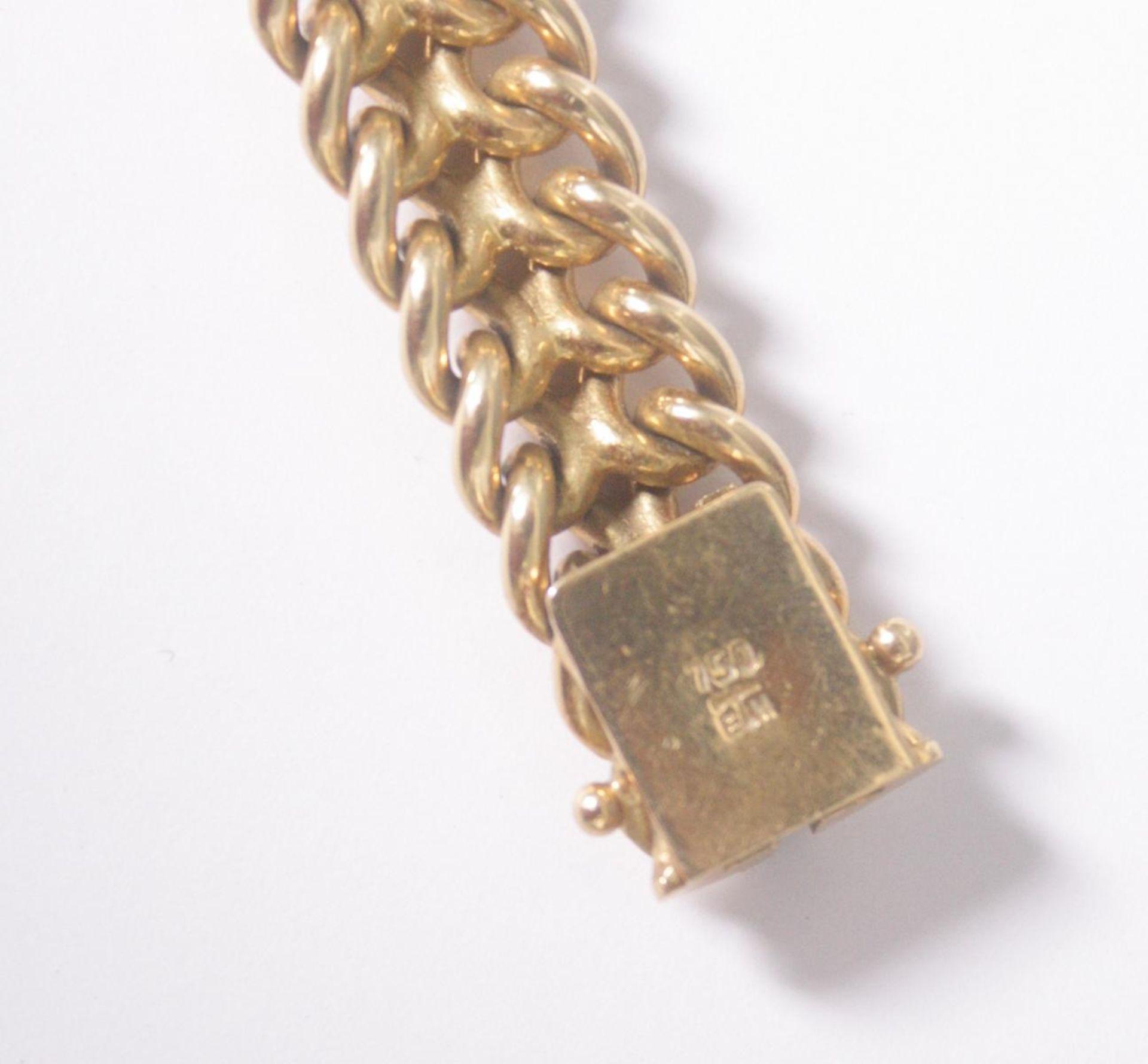 Damenarmband 18 Karat Gelbgold - Bild 4 aus 4