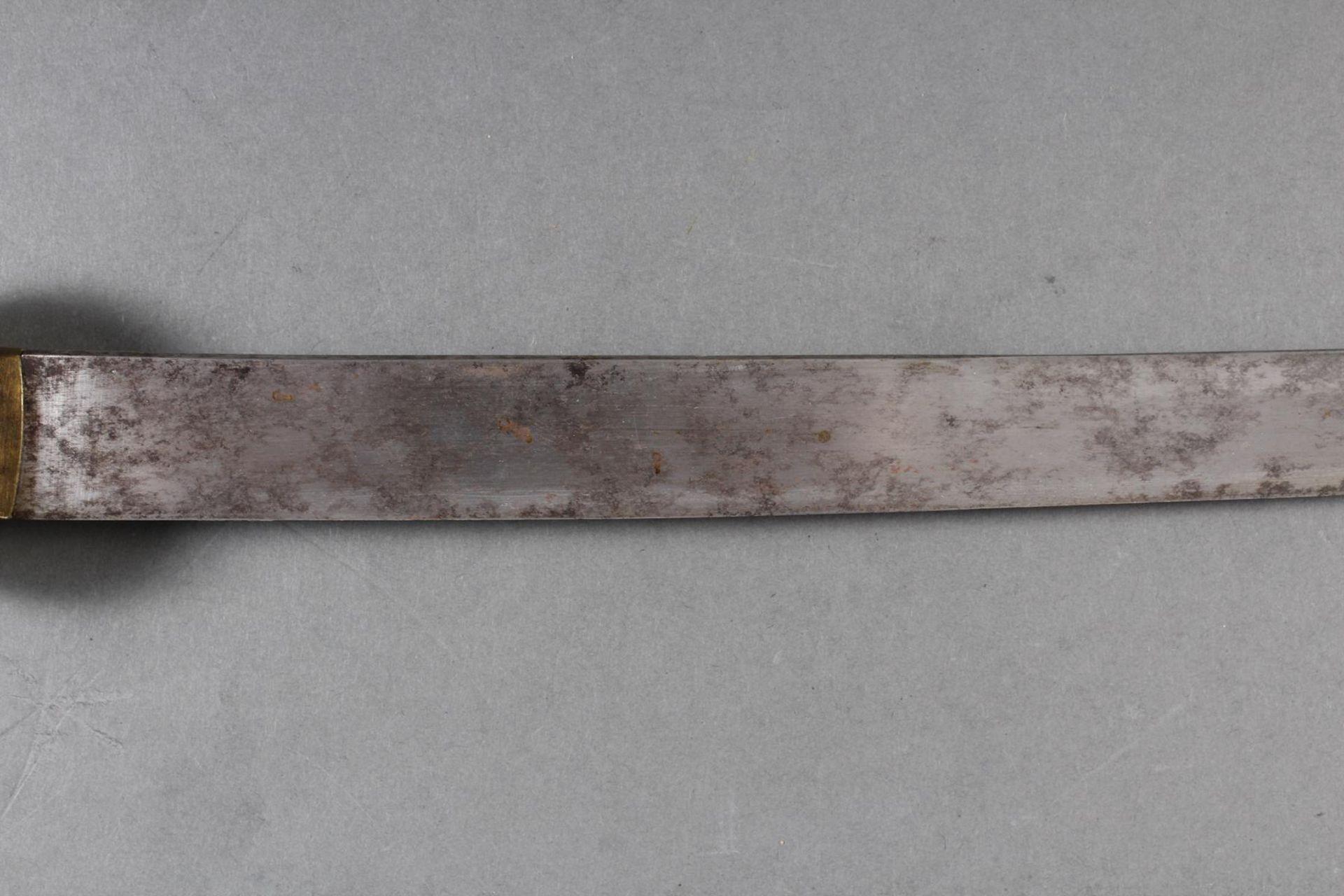 Kurzschwert aus Hirschhorn, Japan Meiji Periode - Bild 3 aus 12