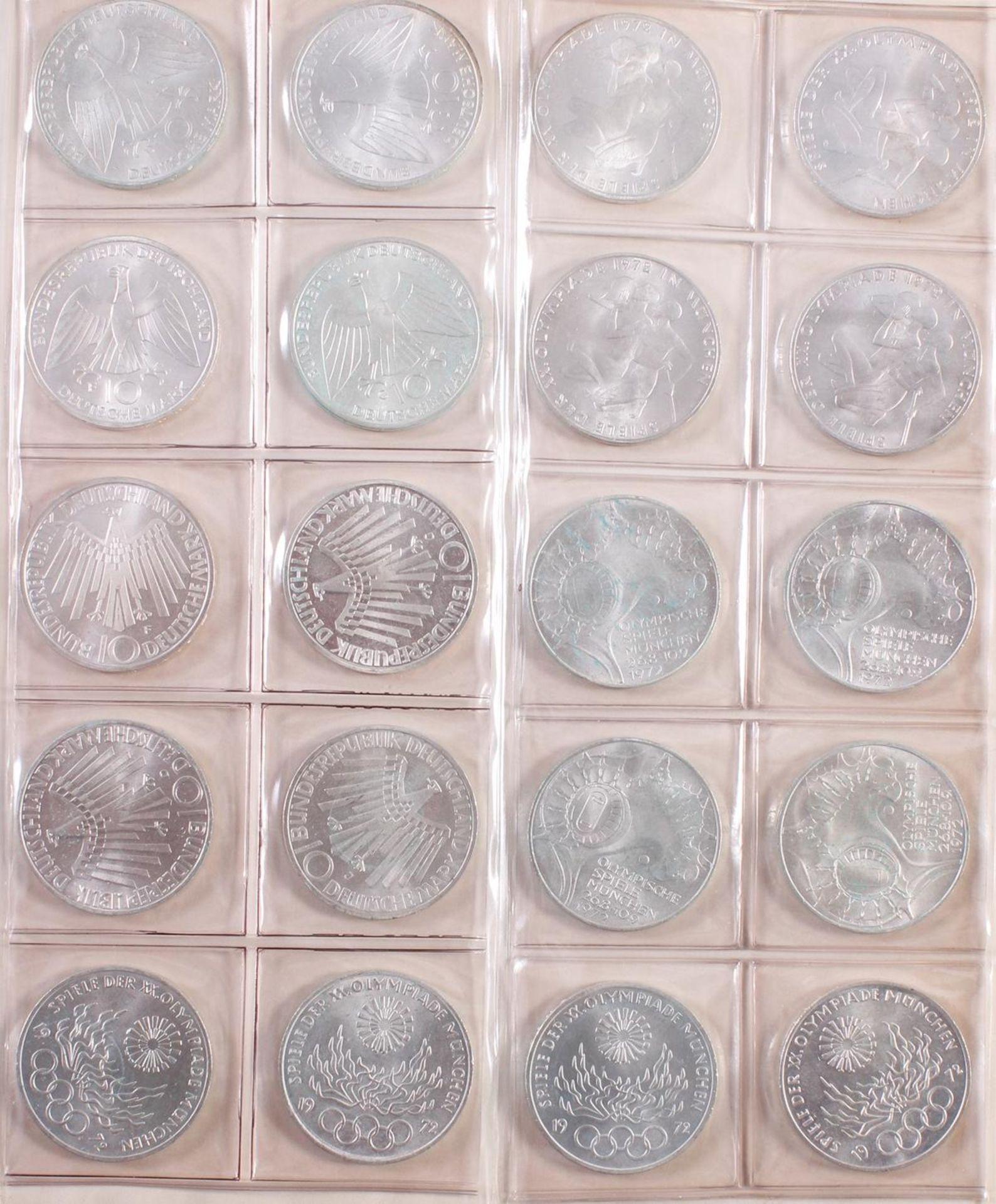 Münzsammlung BRD und alle Welt mit einer Goldmünze - Bild 4 aus 15