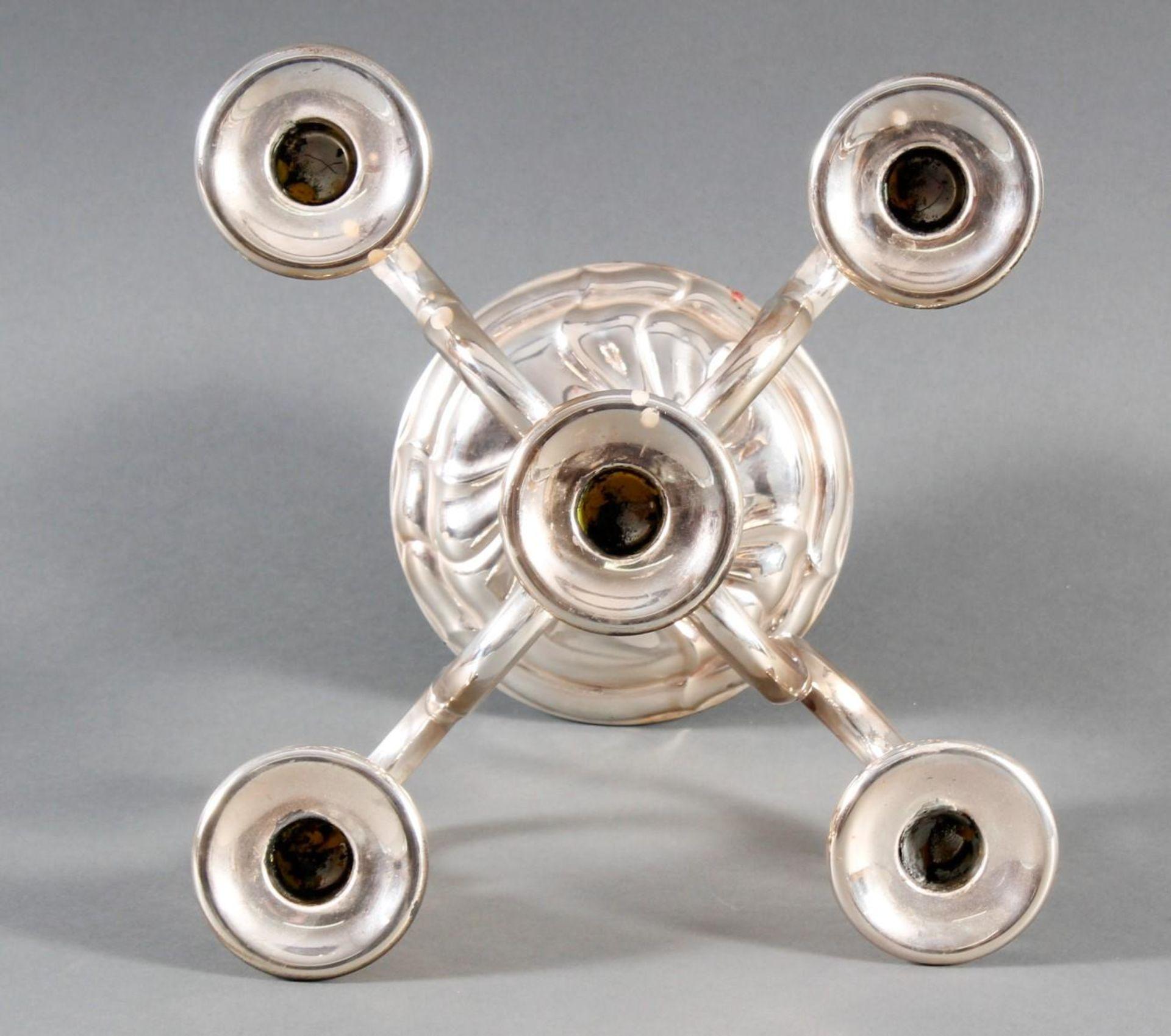 Silberner Kerzenständer - Bild 2 aus 4