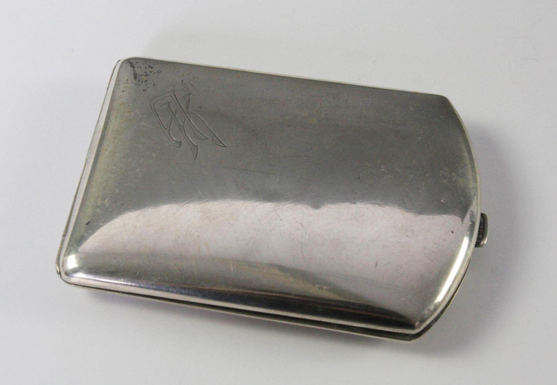 Zigarettenetui 800er Silber