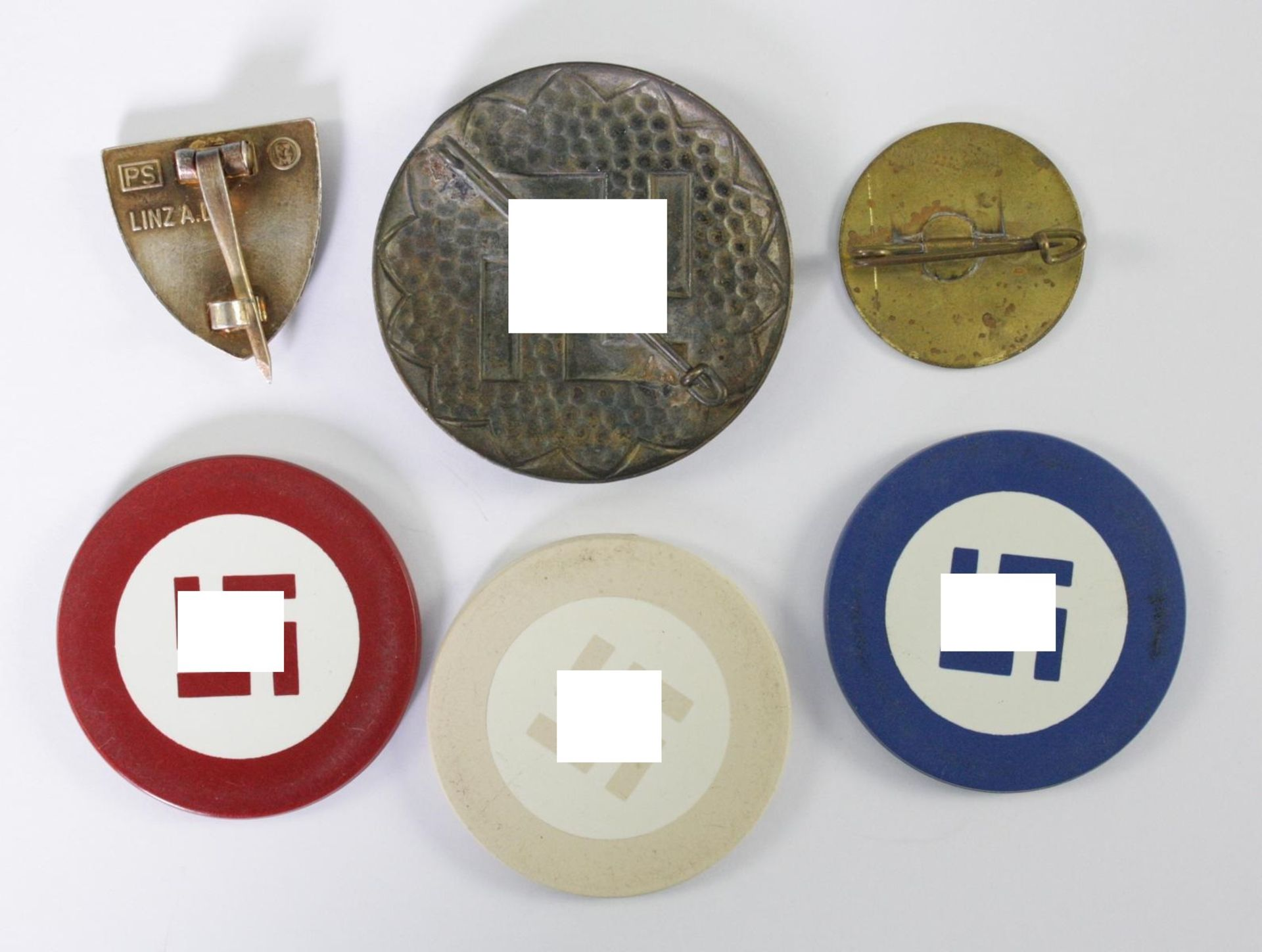 Diverse Memorabilia Thema Hakenkreuz - Bild 2 aus 2