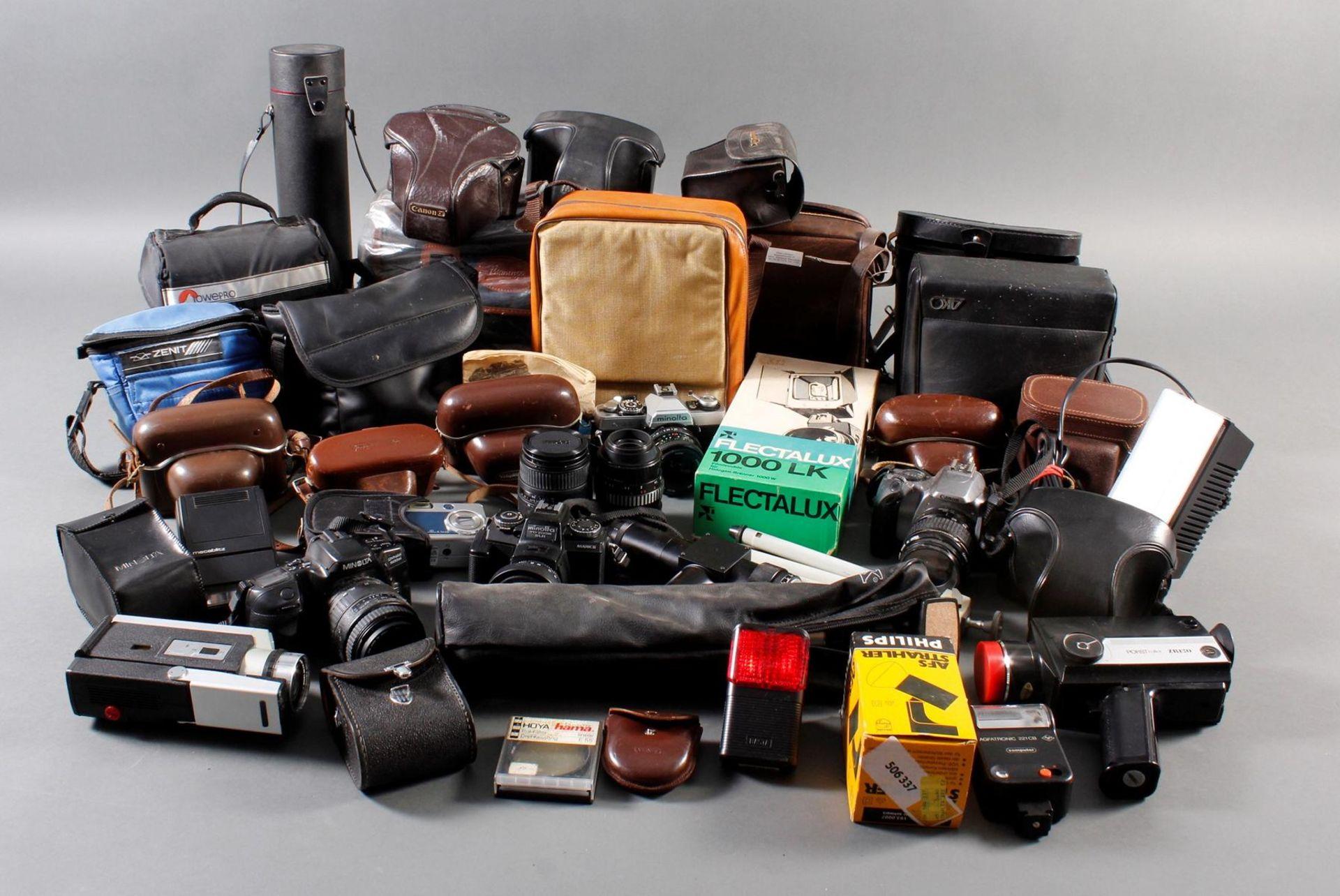 Sammlung Kameras