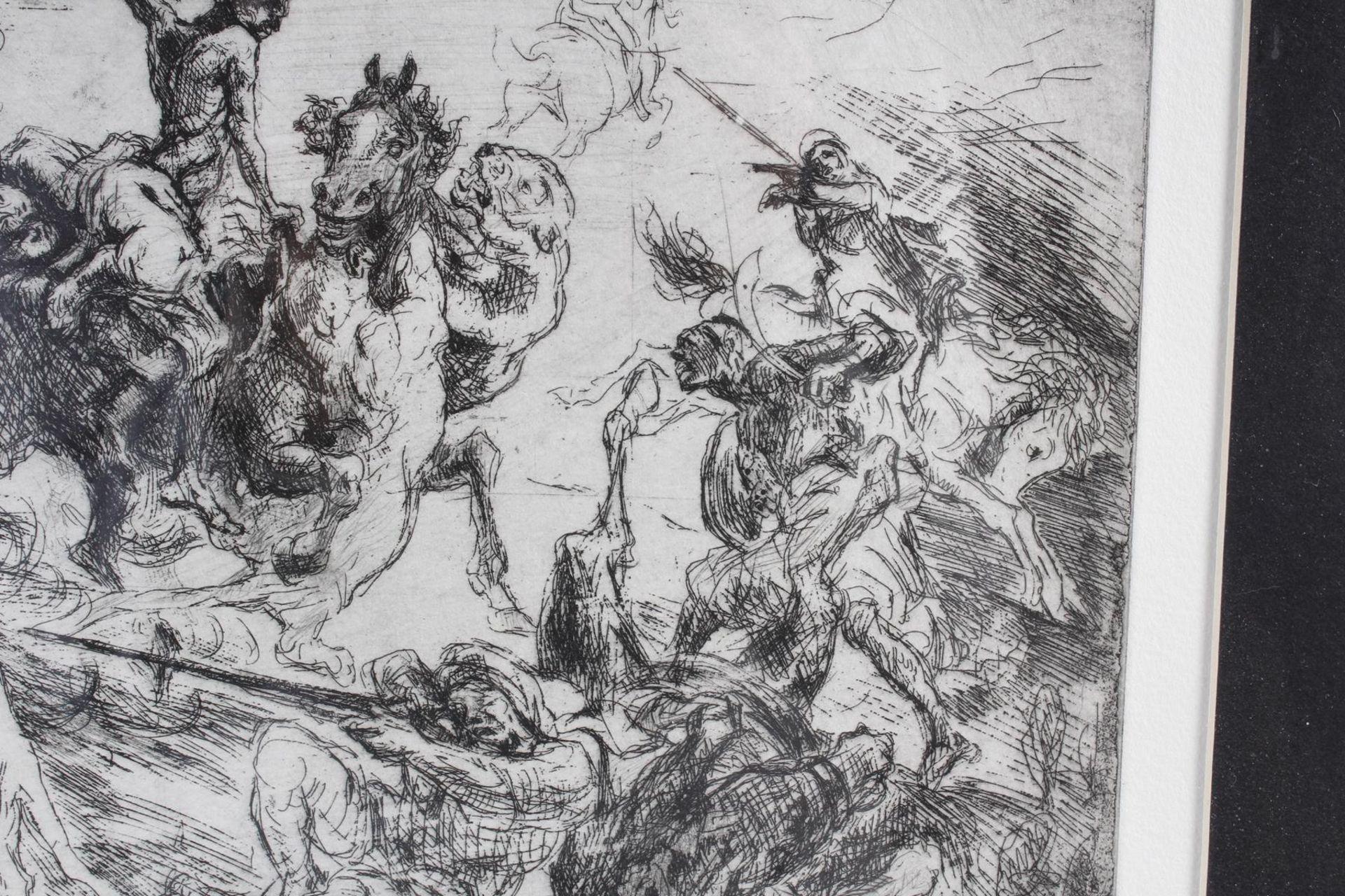 Max Slevogt (1868-1932), Löwenjagd - Bild 4 aus 7