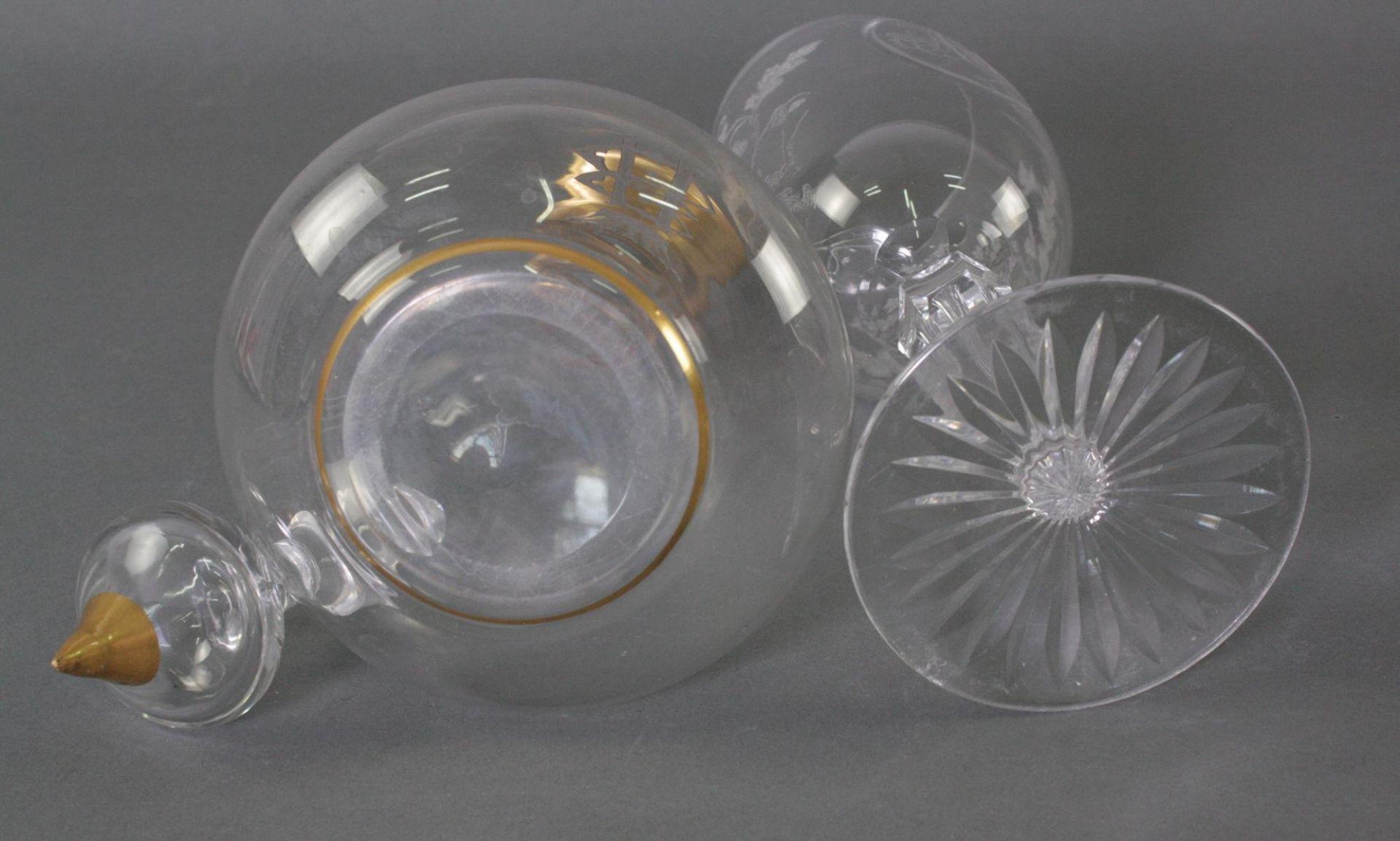 Glas Karaffe und Pokal - Bild 4 aus 6