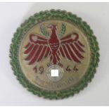 Standschützen, Schieß-Abzeichen Tirol 1943 Gaumeister