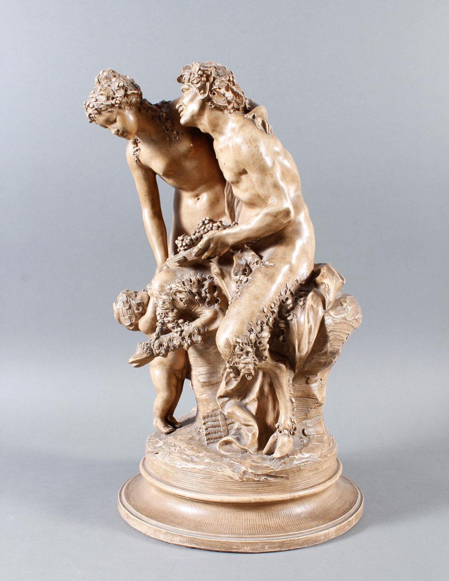 Terakottafigur, Clodion, Claude-Michel (1738-1814), 19. Jahrhundert - Bild 5 aus 18