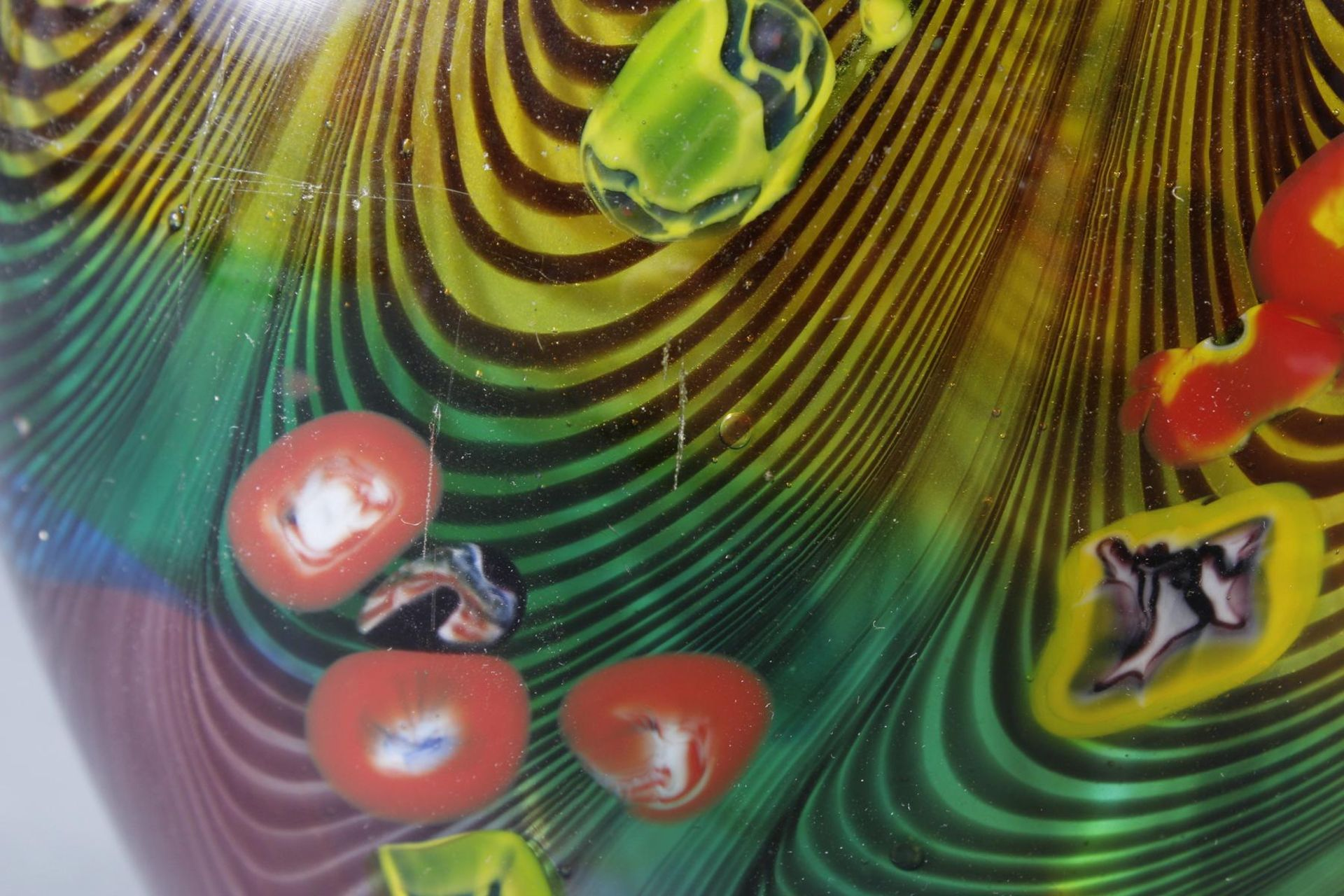 Große Glasziervase, Murano 1970er / 1980er Jahre - Bild 5 aus 8