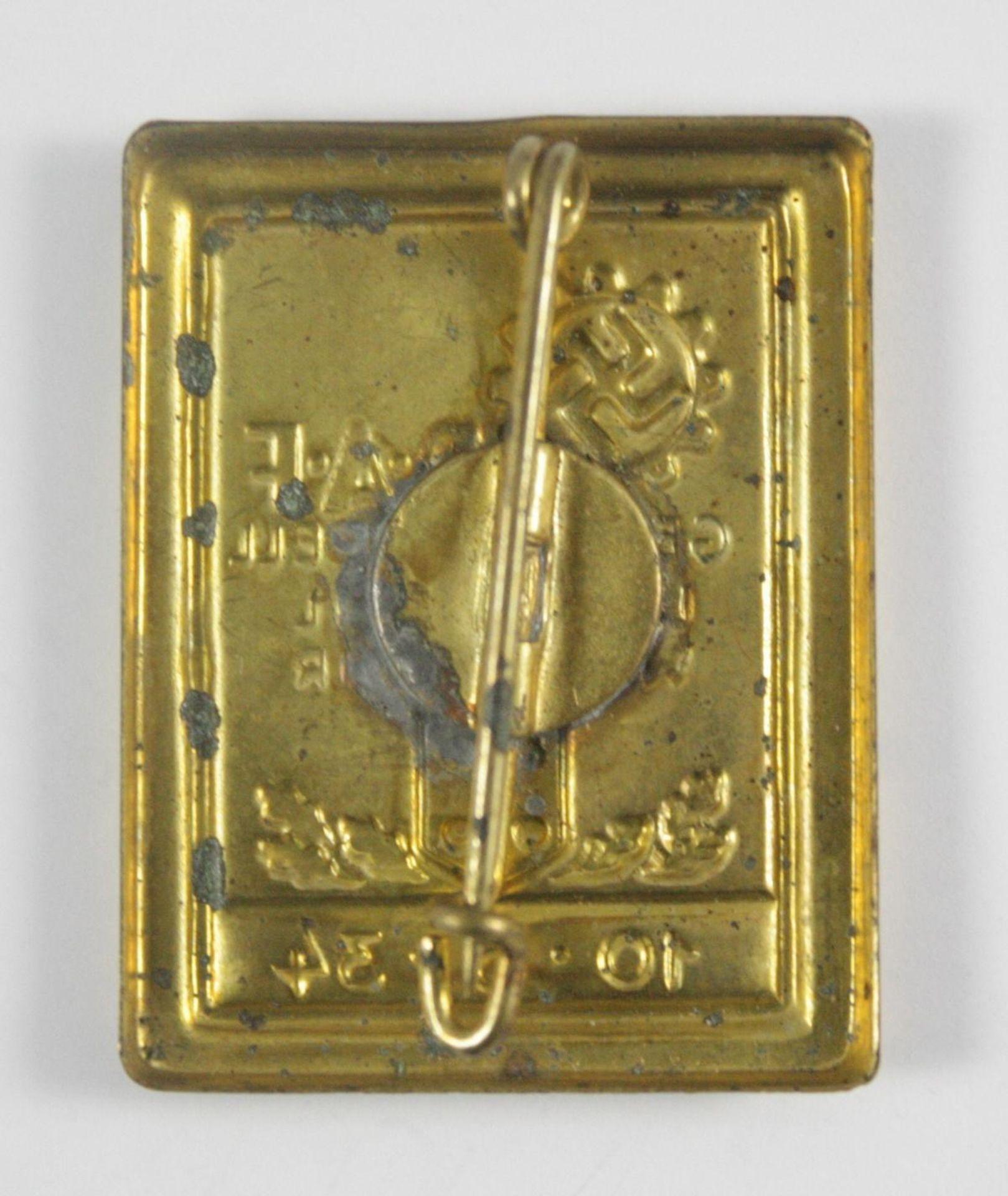Abzeichen, DAF Generalappell Landstuhl-Waldmohr 1934 - Bild 2 aus 2