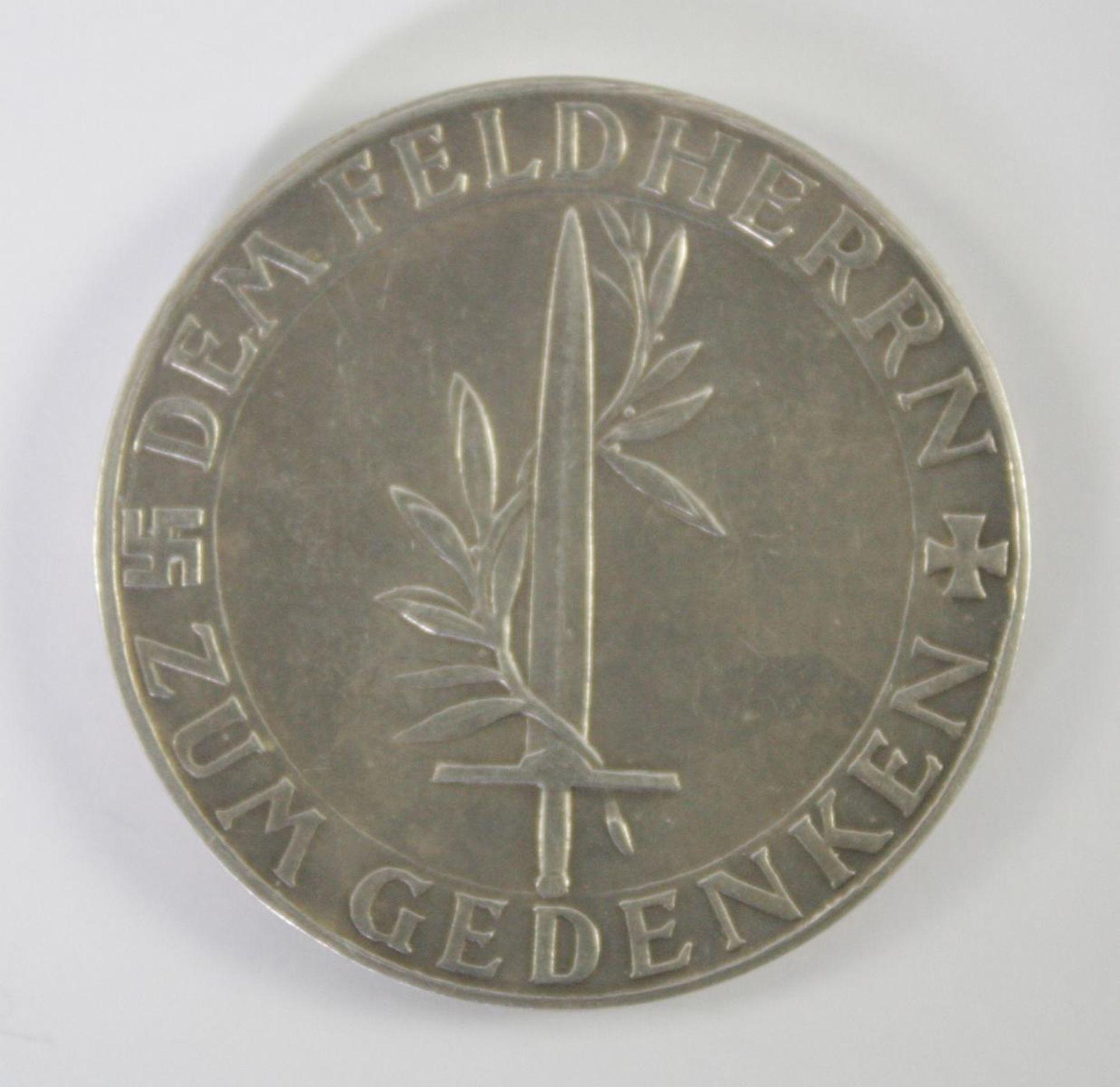Silbermedaille, Erich Ludendorff 1865-1937 - Bild 2 aus 2