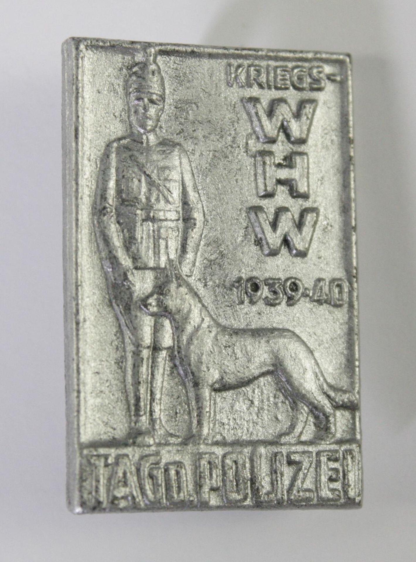 Abzeichen: Kriegs-WHW Tag der Polizei 1939-40