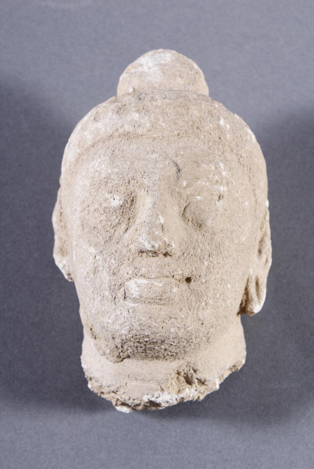 Kleiner Kopf des Buddha
