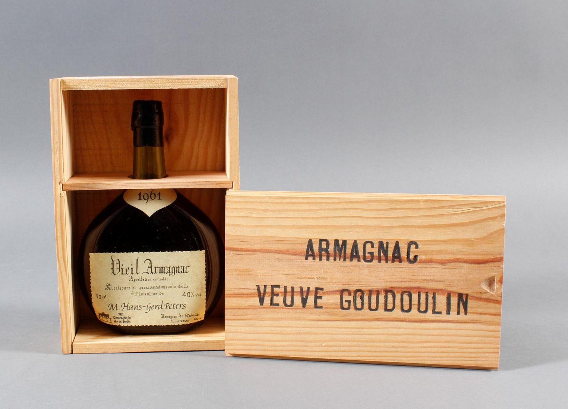 Armagnac de Goudoulin, 1961