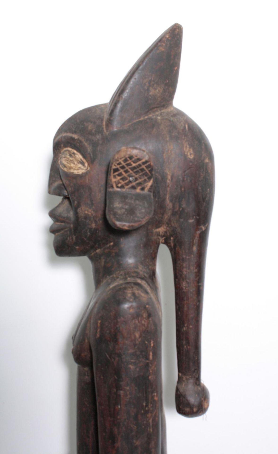 "Große Figur, wohl ""Eshu"", Yoruba, Nigeria , 1. Hälfte 20. Jh. - Bild 9 aus 11"