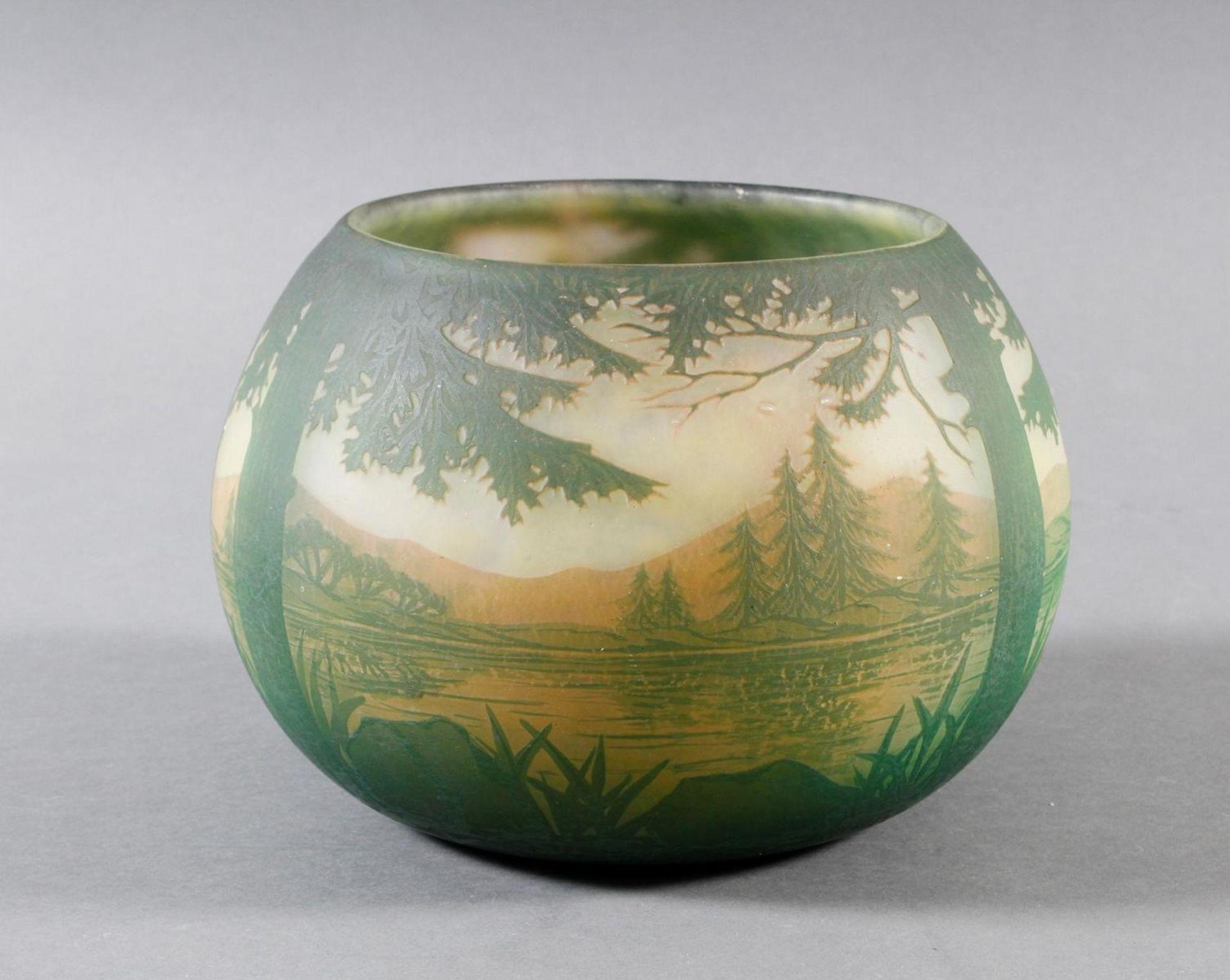 Daum Nancy, Vase Frankreich um 1900 - Bild 2 aus 9