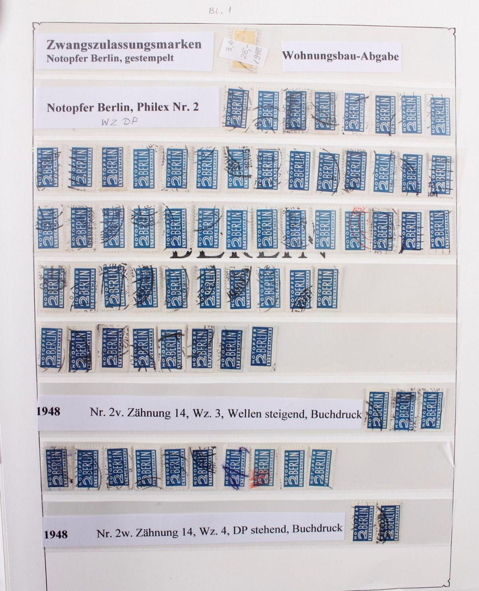 Berlin, 1948-1990 , gestempelt, Spitzensammlung! - Bild 9 aus 11