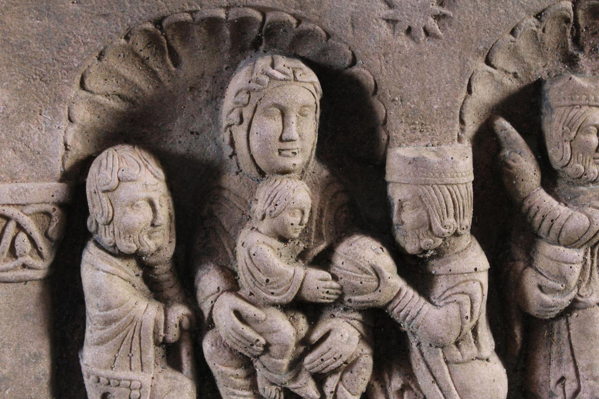 Sandstein Gussrelief - Bild 4 aus 10