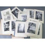 Konvolut Fotos, zumeist Weimar um 1940