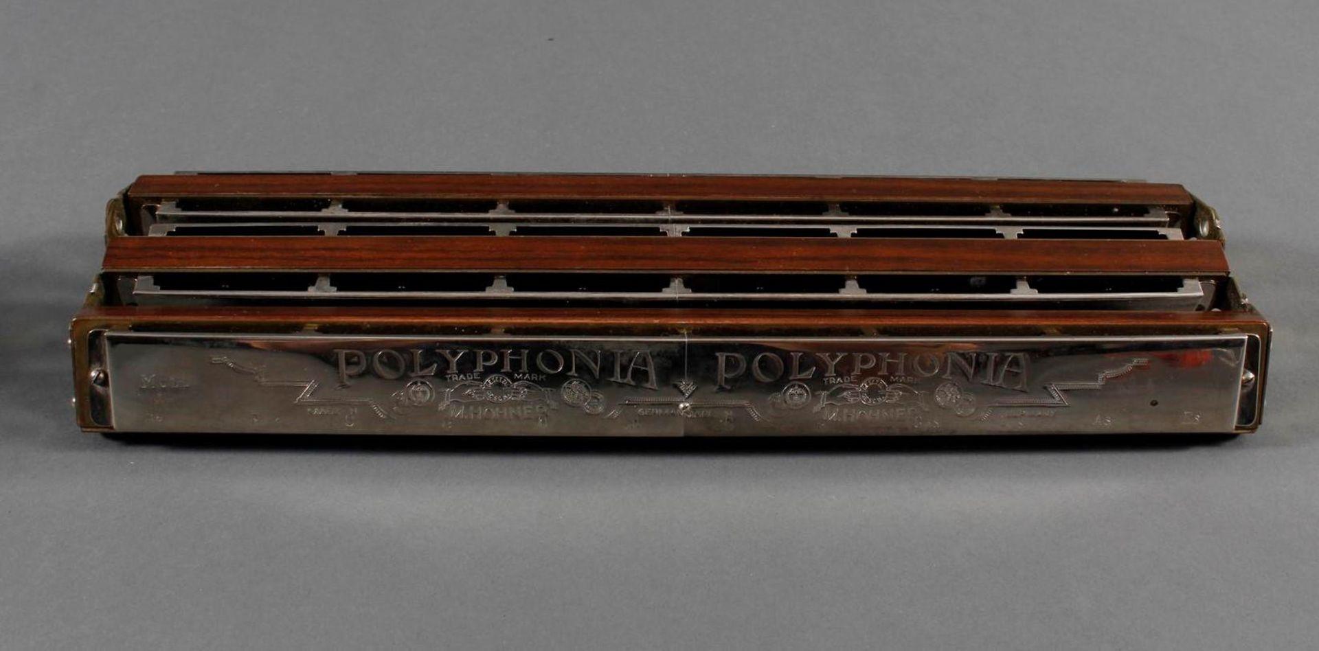 Hohner Triple Bass Mundharmonika - Bild 2 aus 6