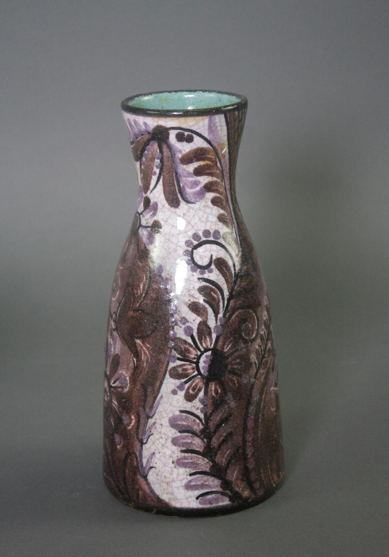 Zwei Keramik Vasen, Gunther Lambert und Eder Gmunden - Bild 2 aus 4
